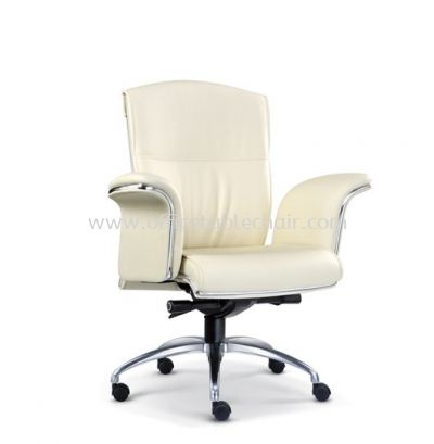 LEADER DIRECTOR LOW BACK CHAIR WITH CHROME TRIMMING LINE ASE 2063