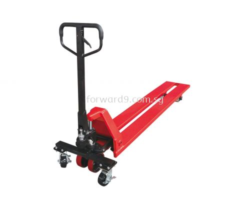 2into1 Lengthened Fork Hand Pallet Truck