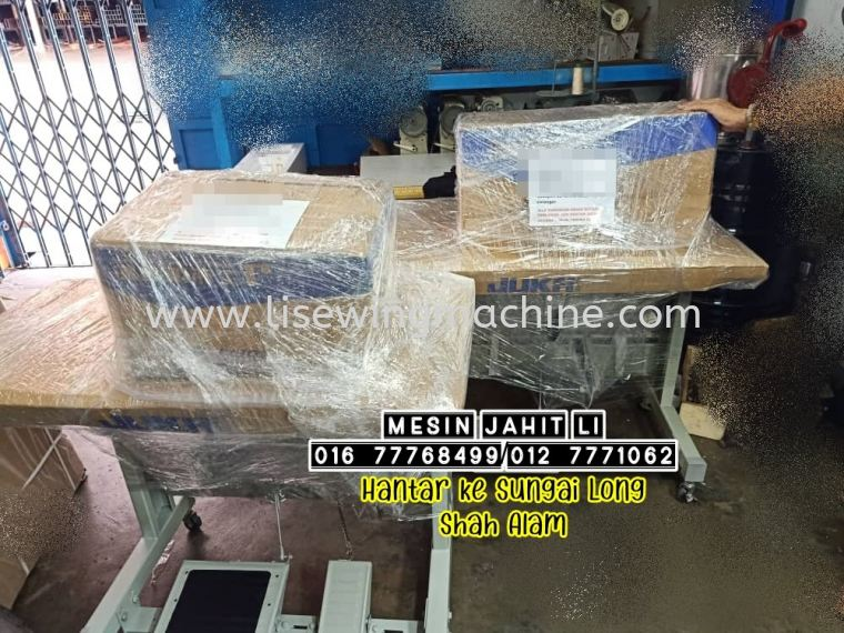 done packing 2 set sewing machine for delivery to Sungai Long Shah ALAM