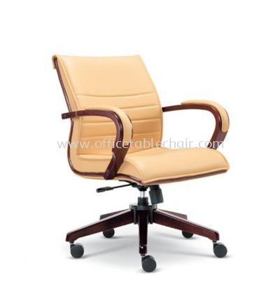UTMOST DIRECTOR LOW BACK CHAIR WITH WOODEN TRIMMING LINE  ASE 2633
