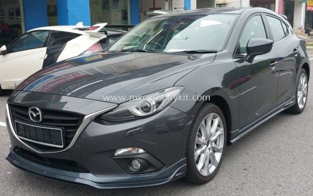 MAZDA 3 HATCHBACK 2015 RS DESIGN BODY KIT + SPOILER