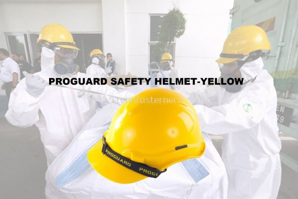 PROGUARD SAFETY HELMET-YELLOW