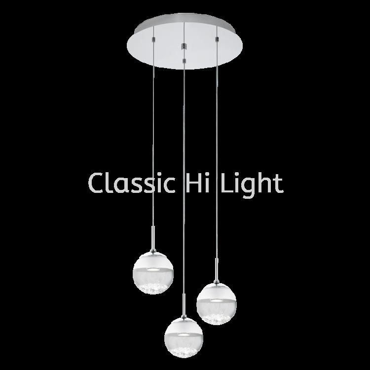 Eglo 93709 Crystal Pendant Light