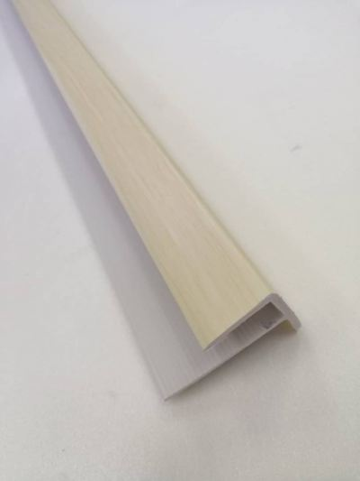 PVC  Stair Nose F 8mm - Beige ( F8-1022 )