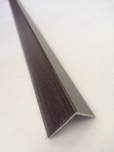PVC  'L' END Border BIG - Walnut ( LB-1033 )