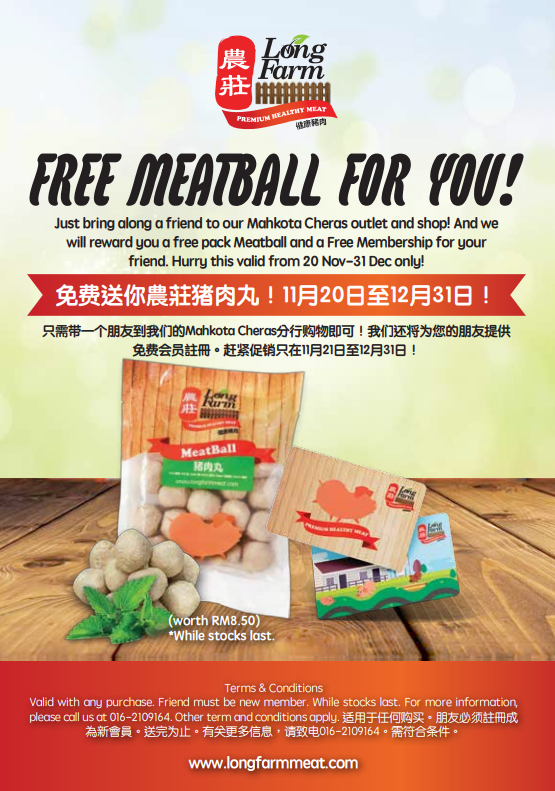 FREE MEATBALL FOR YOU!