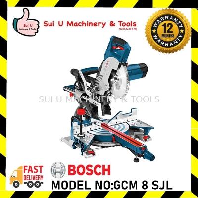 Bosch GCM 8 SJL / GCM8SJL Professional Slide Mitre Saw Heavy Duty 1600W (0601B191L0)