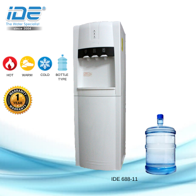 Yamada 688-11 Bottle Type Water Dispenser(Hot&Warm&Cool)