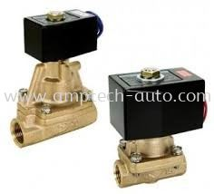 Pilot kick 2-port solenoid valve for steam SPK PKS PVS