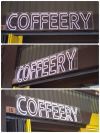 NEON LED LETTERING WITH CLEAR CASE LED NEON