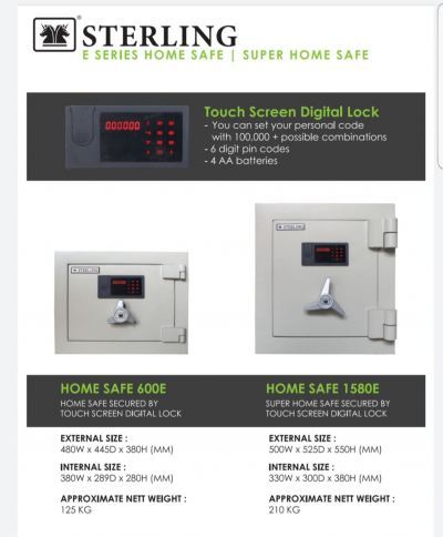 Home Safe digital lock