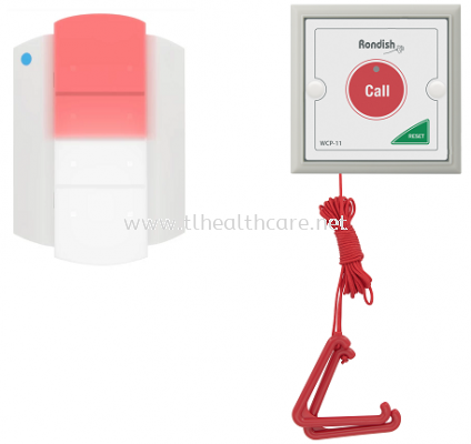 OKU Disable toilet nurse call bathroom system wireless bell safety rondish hospital elderly watch