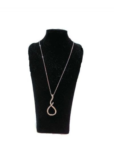 SIMPLE CHAIN WITH STONE PENDANT