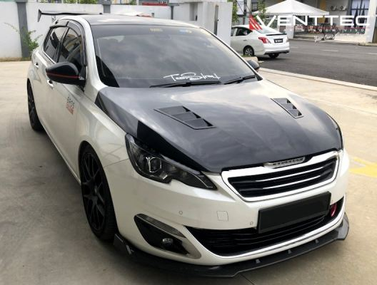 PEUGEOT 308 HATCHBACK (T9) 13Y-ABOVE = VENTTEC DOOR VISOR