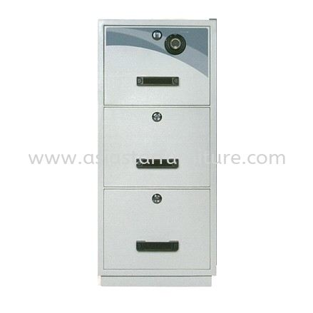 FIRE RESISTANT CABINET SAFETY BOX 3 DRAWER-safety box taman oug | safety box cheras | safety box ampang