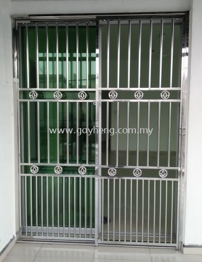 Stainless Steel 2 Door Grille 2Ҷ�׸�����
