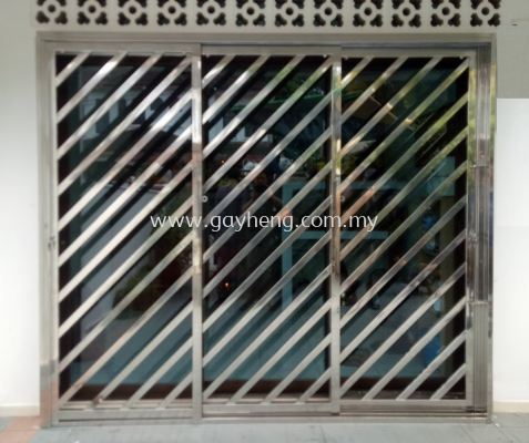 Stainless Steel 3 Sliding Door Grille 3Ҷ�׸�����