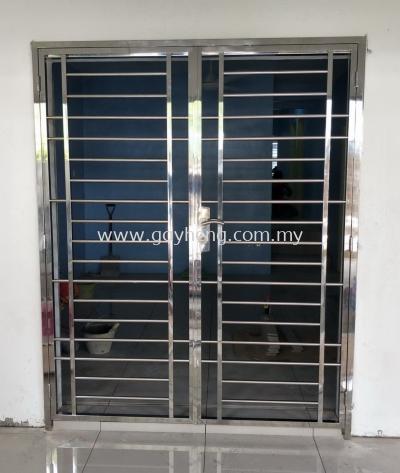 Stainless Steel 2 swing Door Grille 2Ҷ������