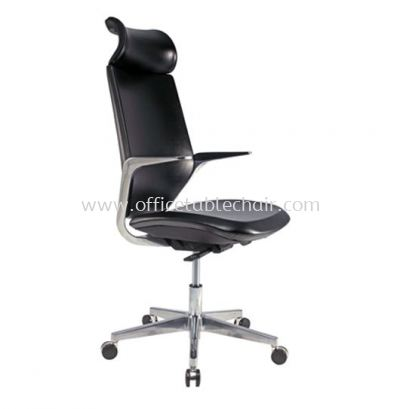 F2 EXECUTIVE HIGH BACK CHAIR WITH ALUMINIUM DIE-CAST BASE