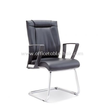 GREATER VISITOR CHAIR WITH CHROME TRIMMING LINE ASE 2524