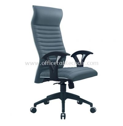 VIO III EXECUTIVE HIGH BACK CHAIR WITH CHROME TRIMMING LINE ACL 611