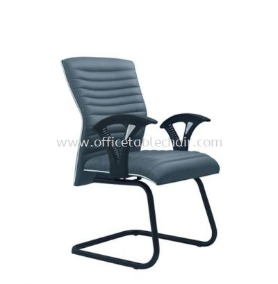 VIO III EXECUTIVE VISITOR CHAIR WITH CHROME TRIMMING LINE ACL 655