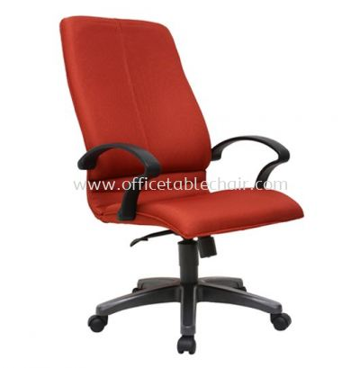 BONZER STANDARD HIGH BACK FABRIC CHAIR WITH POLYPROPYLENE BASE ACL 640