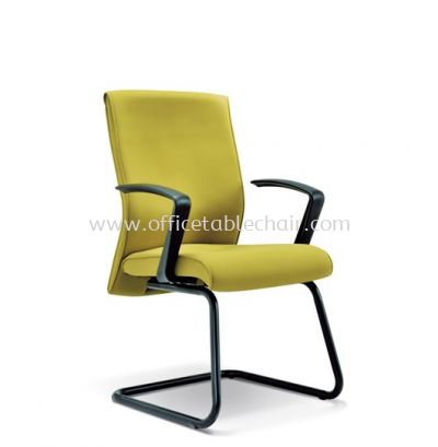 CLEAVE STANDARD VISITOR CHAIR WITH EPOXY BLACK CANTILEVER BASE ASE 2234
