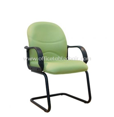 KIND STANDARD VISITOR CHAIR WITH EPOXY BLACK CANTILEVER BASE ASE 8005
