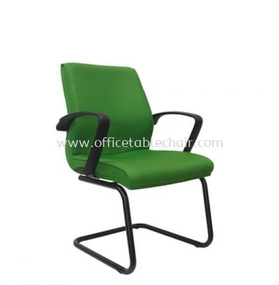 NEXUS STANDARD VISITOR FABRIC CHAIR WITH EPOXY BLACK CANTILEVER BASE