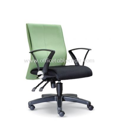 DISS STANDARD LOW BACK FABRIC CHAIR WITH POLYPROPYLENE BASE