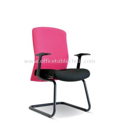 SKILL STANDARD VISITOR FABRIC CHAIR WITH EPOXY BLACK CANTILEVER BASE ASE 2194