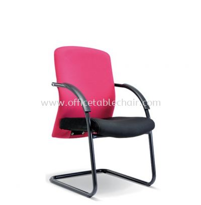 SKILL STANDARD VISITOR CHAIR WITH EPOXY BLACK CANTILEVER BASE ASE 2195