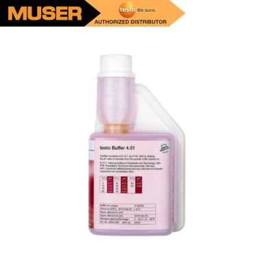 Testo 0554 2061| pH buffer solution 4.01