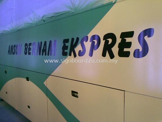 Sabak Bernam  K.L  Ekspres body sticker