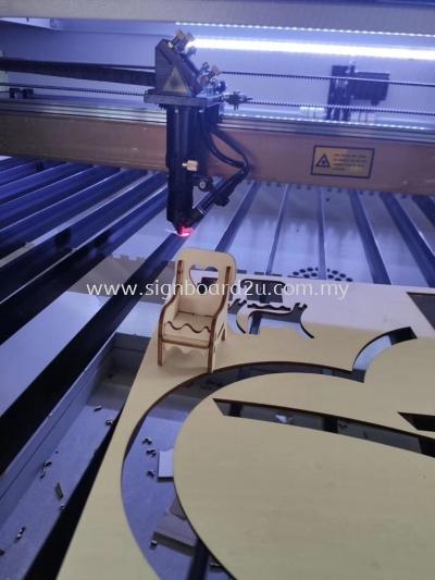 Wood Board Laser Machines cutting