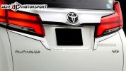 Toyota Alphard ANH30 Back door garnish Vellfire 2015  Toyota