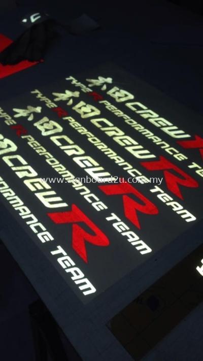 3M Reflective Sticker Cutting at klang selangor