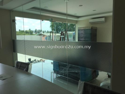 Artha Logistics office Printing on Frosted sticker design at kampung telok gong Pelabuhan klang