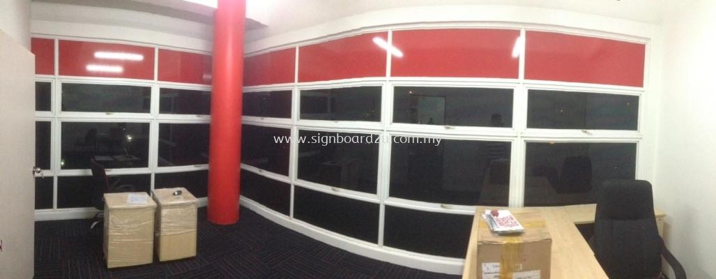 Office Window Tinted Film at Cheras Kuala Lumpur