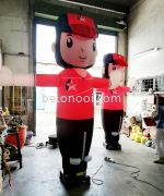 INFLATABLE CALTEX PUPPET WITH BLOWER