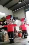 INFLATABLE CALTEX PUPPET WITH BLOWER  Inflatable Display