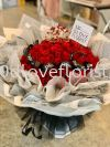 99 Roses Bouquet with standing box RM599 PROPOSAL 告白 / 求婚