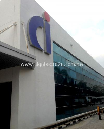CI Chiyoda Integre co.(m) sdn bhd 3D box up stainless steel logo at shah alam selangor