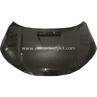 HONDA CITY GM6 CARBON FIBER FRONT BONNET HOOD