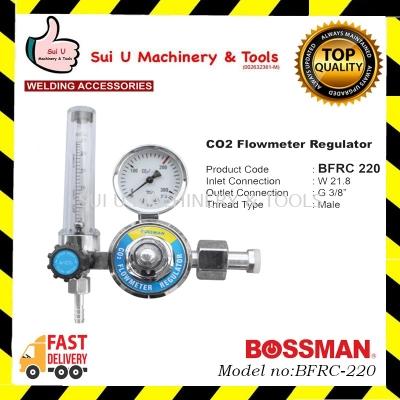 BOSSMAN BFRC-220 / BFRC220 Co2 Flowmeter Regulator Welding Accessories