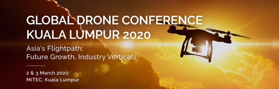 GLOBAL DRONE CONFERENCE KUALA LUMPUR 2020 March 2020