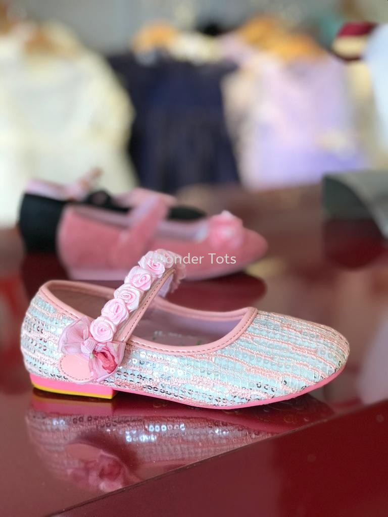 Girl Shoes - Pink 1520A