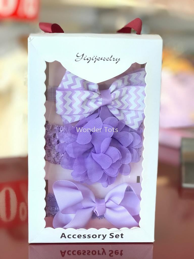BabyGirl Headband Gift Box Set