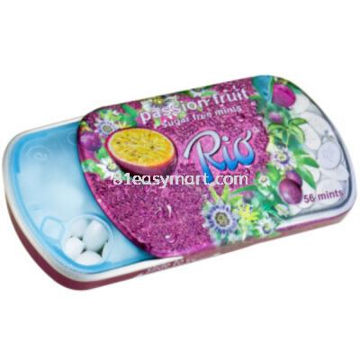 瑞欧百香果味薄荷糖 (Rio Passion Fruit Sugar Free Mints)